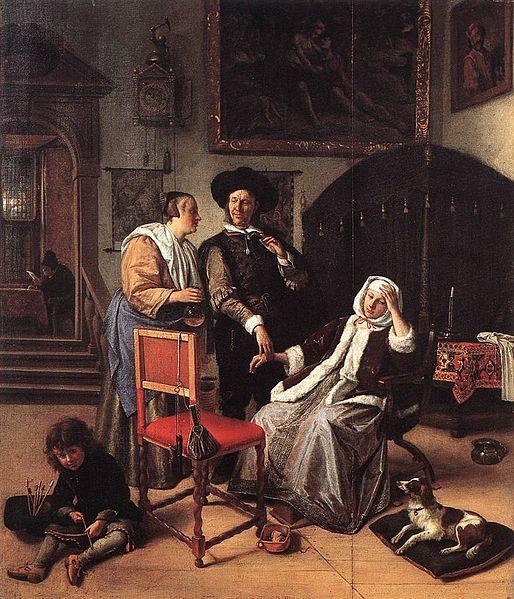 514px-JanSteen-Doctor'sVisit(1658-1662)